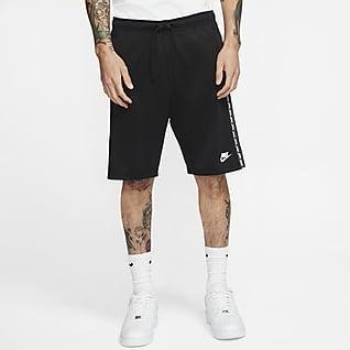 Nike Sportswear Shorts i polyestermaterial för män