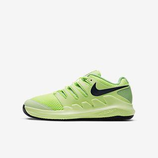 NikeCourt Jr. Vapor X Teniszcipő gyerekeknek/nagyobb gyerekeknek
