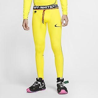 legging nike jaune