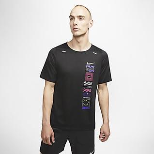 Nike Rise 365 London Kurzarmshirt für Herren