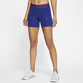 Nike Pro Damenshorts (ca. 13 cm)