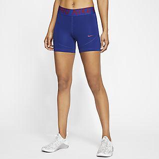 Nike Pro Damesshorts (13 cm)
