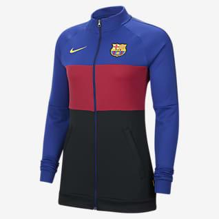 FC Barcelona Fotbollsjacka för kvinnor