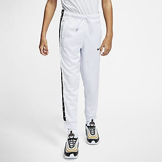 Nike Sportswear Swoosh Pantalones de entrenamiento para niños talla grande