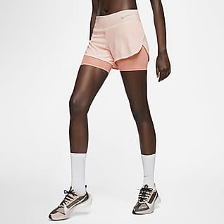 Nike Eclipse Short de running 2 en 1 pour Femme