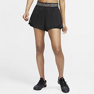 Nike Pro Flex 2 az 1-ben női rövidnadrág