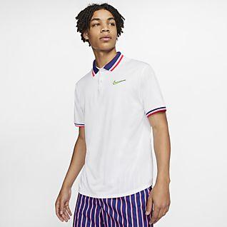NikeCourt Slam เสื้อโปโลเทนนิสผู้ชาย