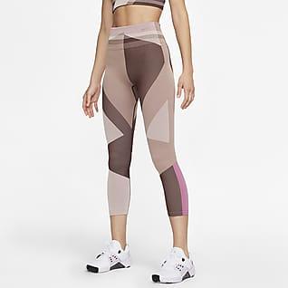Nike Sculpt Icon Clash Leggings de entrenamiento sin costuras de 7/8 para mujer