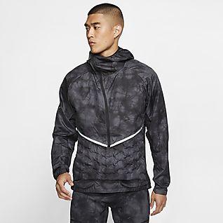 Nike Tech Fleece Aeroloft Jacket | Grønn | Dun jakker