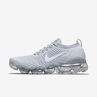 White VaporMax Shoes. Nike.com