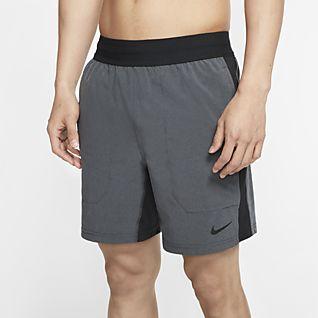 Nike Flex กางเกงขาสั้นเทรนนิ่งโยคะผู้ชาย