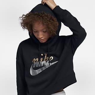 Nike Sportswear Rally Metallic 女子连帽衫
