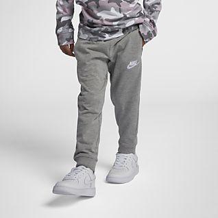 Nike Sportswear Pantalones de entrenamiento de tejido de punto para niños talla pequeña