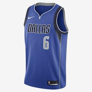 Kristaps Porzingis Mavericks Icon Edition Nike NBA Swingman Jersey