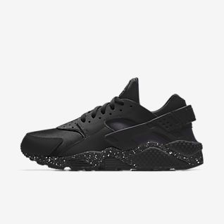 Nike Alpha Huarache Elite 2 Mid Metal Premium By You Custom