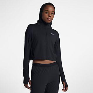 Nike Element Sweat à capuche de running entièrement zippé pour Femme