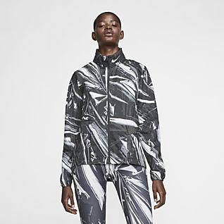 Nike Shield Giacca da running con zip a tutta lunghezza - Donna