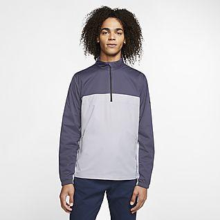 Nike Shield Victory Men's 1/2-Zip Golf Jacket
