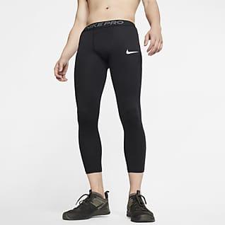 Nike Pro Legging 3/4 pour Homme