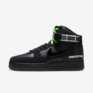 Black Air Force 1 Shoes.