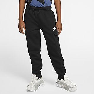 Nike Sportswear Club Pantalones cargo para niño talla grande