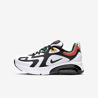 Air Max 200 sko til store barn