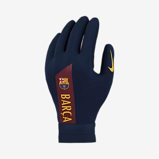 Nike HyperWarm FC Barcelona Academy Dětské fotbalové rukavice
