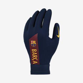 Nike HyperWarm FC Barcelona Academy Kids' Football Gloves