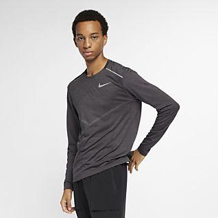 Nike TechKnit Ultra Męska koszulka z długim rękawem do biegania