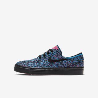 Nike SB Stefan Janoski Canvas Premium Skateschoen voor kids
