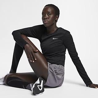 Nike Miler Løpeoverdel til dame