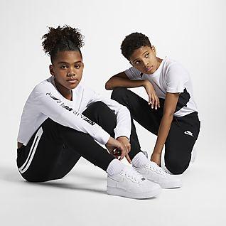 Nike Sportswear Flísové kalhoty Tech pro větší děti