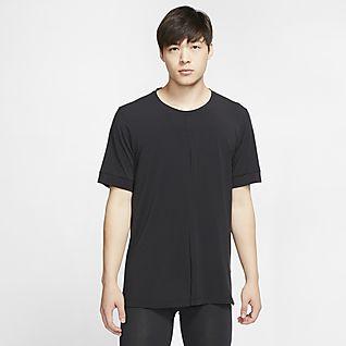 Nike Yoga Dri-FIT Men's Short-Sleeve Top