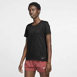 Nike Run Γυναικεία κοντομάνικη μπλούζα για τρέξιμο