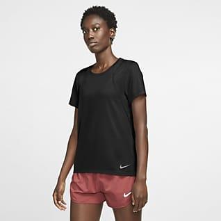 Nike Run Kortärmad löpartröja för kvinnor