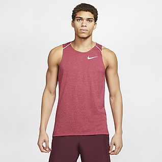 Mens Red Tops & T Shirts.