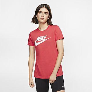 tee shirt nike femme col v