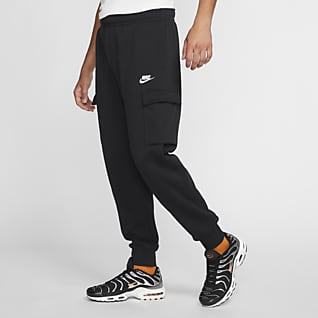 Nike Sportswear Club Fleece Cargo-bukse for herre