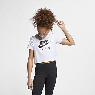 Nike Air Rövid szabású felső nagyobb gyerekeknek (lányok)
