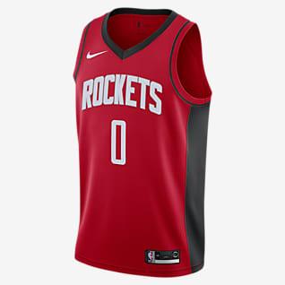 Russell Westbrook Rockets Icon Edition Camiseta Nike NBA Swingman