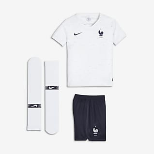 2018 FFF Stadium Away Younger Kids' Football Kit