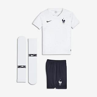 2018 FFF Stadium Away Younger Kids' Football Kit