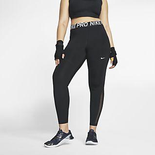 Nike Pro Dámské legíny (větší velikost)