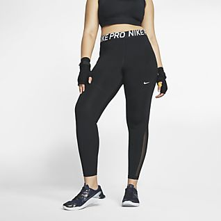 Nike Pro Tights para mulher (tamanhos grandes)