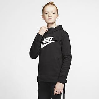 Nike Sportswear Dívčí mikina s kapucí