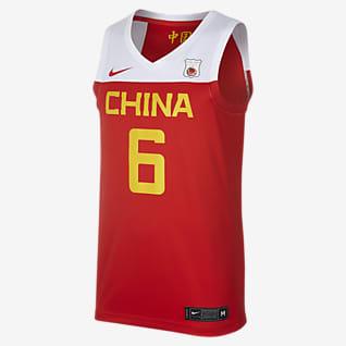 Nike 中国队(客场) 男子篮球球衣