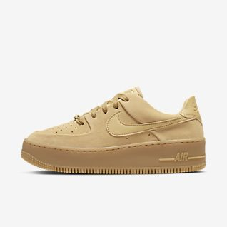Jaune Air Force 1 Chaussures. Nike FR