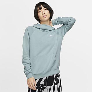 Plain Black Sweatshirt Top Pullover Hoodie Women Men Fleece Cotton Sweater