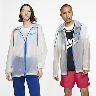 Nike Przezroczysta kurtka przeciwdeszczowa