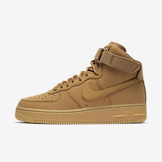 nike air force 1 high suede camel
